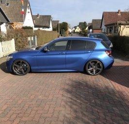 Z-Performance 6.1 Felge in 8x19 ET 40 mit Michelin  Reifen in 225/35/19 montiert vorn Hier auf einem 1er BMW F20 M135i (5-türer) Details zum Fahrzeug / Besitzer