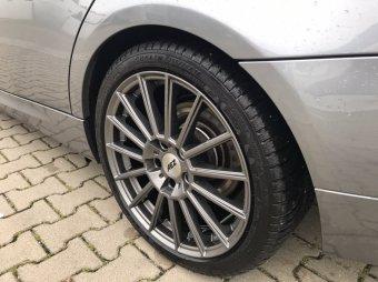 AEZ  Felge in 8.5x18 ET 37 mit Michelin  Reifen in 255/35/18 montiert hinten Hier auf einem 3er BMW E90 320d (Limousine) Details zum Fahrzeug / Besitzer