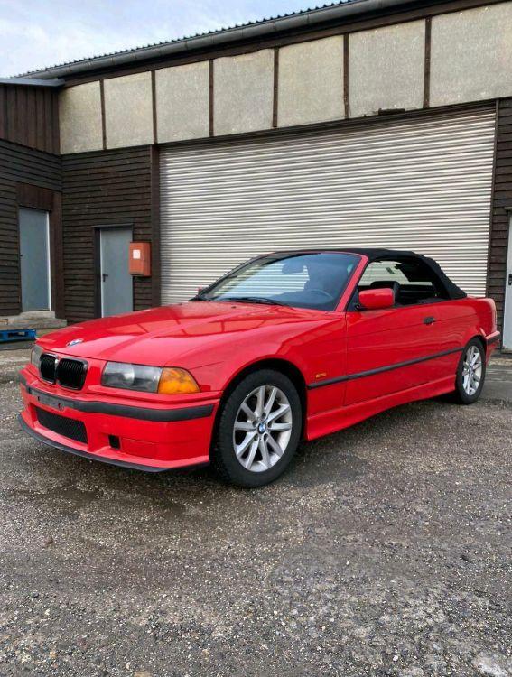 e36 Roter Flitzer - 3er BMW - E36