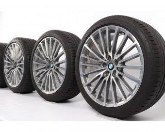 BMW  Felge in 8.5x20 ET 21 mit Bridgestone SP001 Reifen in 245/40/20 montiert vorn Hier auf einem 7er BMW F02 750Li (Limousine) Details zum Fahrzeug / Besitzer