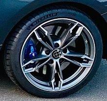 - Eigenbau - GMP DEA Felge in 8x18 ET 43 mit Michelin PS4S Reifen in 235/40/18 montiert hinten Hier auf einem 1er BMW F21 M140i (3-türer) Details zum Fahrzeug / Besitzer