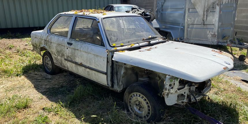 PROJECT FOR THE RESTORATION OF A BMW E21 FOR DECOR - Fotostories weiterer BMW Modelle