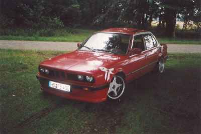 E30 318i auf 318i Turbo Bj. 1985