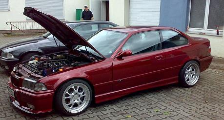 ///M-POWER °Calypsorot° - 3er BMW - E36 -