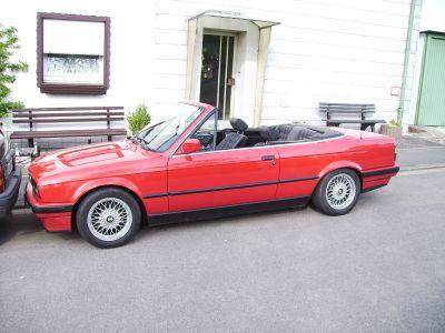 E30 318i rotes caby - 3er BMW - E30