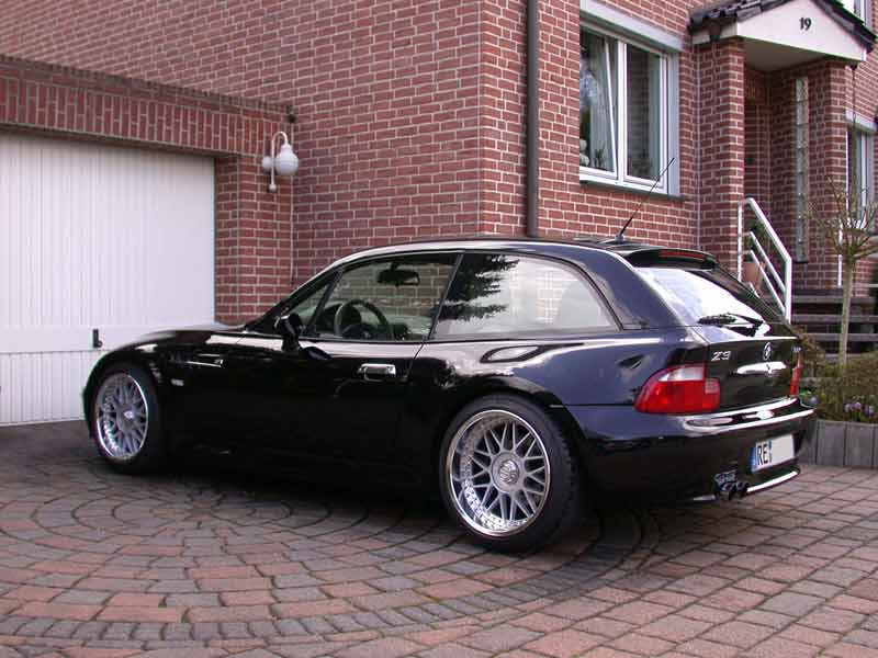 bmw z3 coupe bmw z1 z3 z4 z8 z3 coupe tuning fotos bilder stories. Black Bedroom Furniture Sets. Home Design Ideas