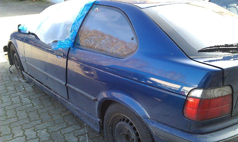 Der avusblaue Kurze - 3er BMW - E36