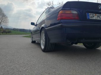 BBS Style 29 Felge in 8.5x17 ET 47 mit Nokian Reifen  Reifen in 245/40/17 montiert hinten Hier auf einem 3er BMW E36 325i (Coupe) Details zum Fahrzeug / Besitzer