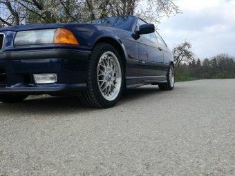 BBS Style 29 Felge in 7.5x17 ET 41 mit Nokian Reifen  Reifen in 225/45/17 montiert vorn Hier auf einem 3er BMW E36 325i (Coupe) Details zum Fahrzeug / Besitzer