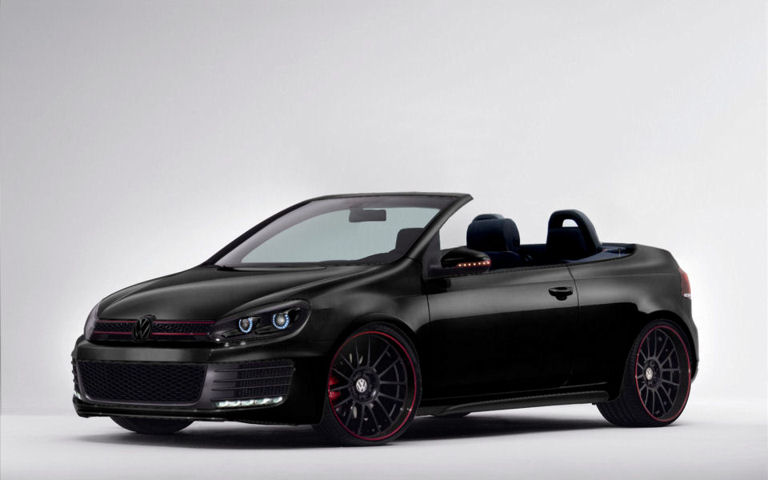 vw golf 6 gti cabrio concept by tomek bmw fakes. Black Bedroom Furniture Sets. Home Design Ideas
