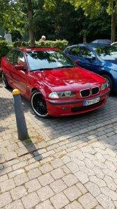 Barracuda Voltec T6 highgloss black Felge in 8x19 ET 38 mit Semperit  Reifen in 235/35/19 montiert vorn Hier auf einem 3er BMW E46 316i (Limousine) Details zum Fahrzeug / Besitzer