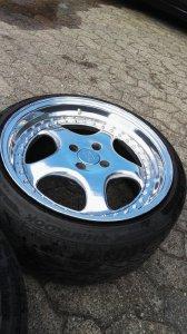 RH Felgen Rh ZW1 Felge in 9.5x17 ET 20 mit Pirelli  Reifen in 215/40/17 montiert vorn Hier auf einem 3er BMW E30 325i (Touring) Details zum Fahrzeug / Besitzer