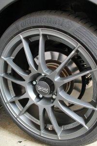 O.Z Ultraleggera Felge in 8x18 ET 34 mit Continental Sport Contact 5 Reifen in 225/40/18 montiert hinten Hier auf einem 3er BMW E92 325i (Coupe) Details zum Fahrzeug / Besitzer