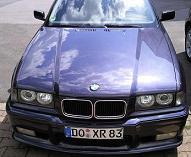 BMW 328i Coupe Madeira-Schwarz/Violett - Metallic
