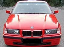 BMW 318ti e36 Brock B2, hellrot