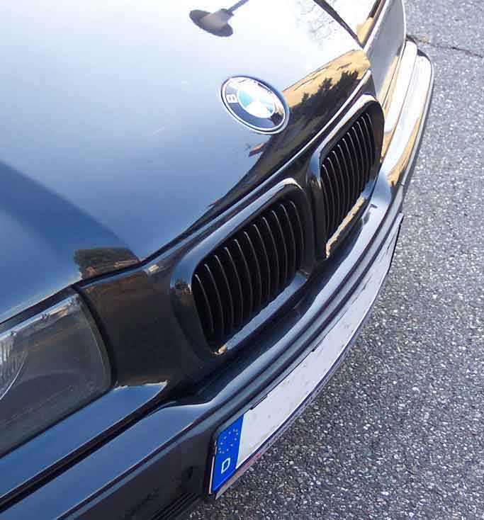 Mein kleiner 316i Compact Exclusive amt LED-Tacho - 3er BMW - E36 -