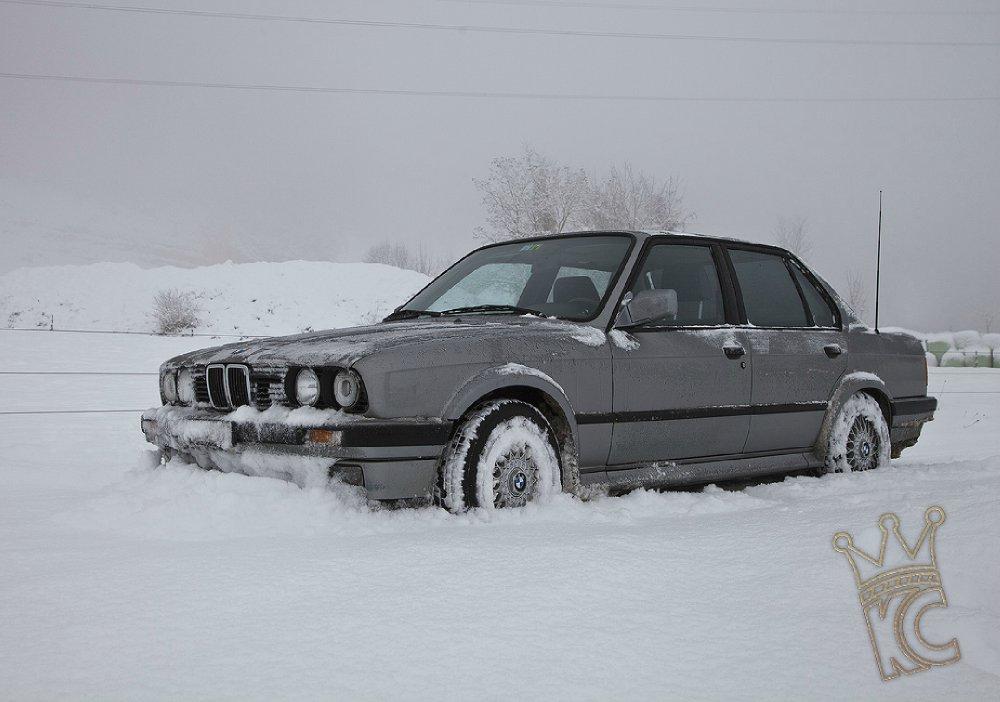 * Königliche Winterkonkubine * - 3er BMW - E30