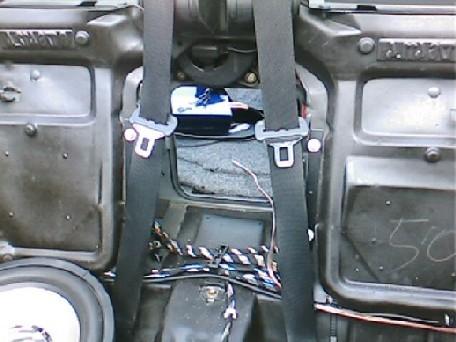 30cm subwoofer im im skisack e36 cabrio fotos von. Black Bedroom Furniture Sets. Home Design Ideas
