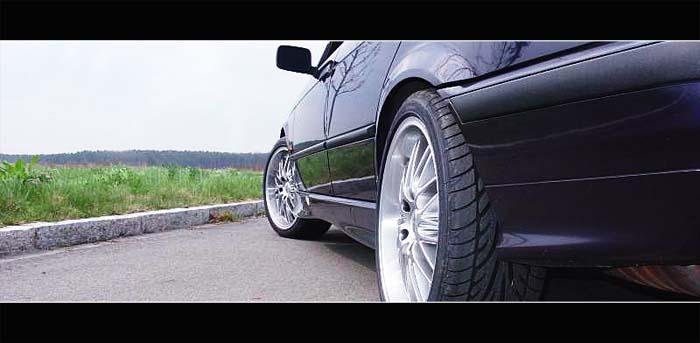 E36 320i Ex-Pampersbomber - 3er BMW - E36