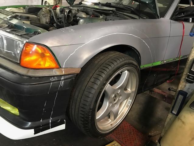 318iS Rocket Bunny - Das Recyclingmobil - 3er BMW - E36