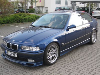 bmw 316i tuning dezent 3er bmw e36 compact. Black Bedroom Furniture Sets. Home Design Ideas