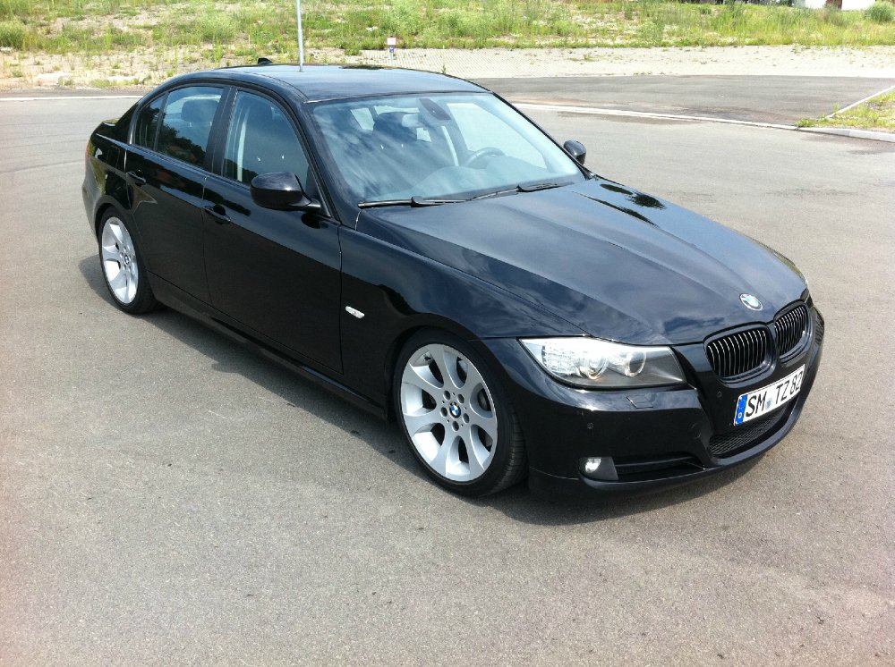 bmw 325d black smoke 3er bmw e90 e91 e92 e93 limousine tuning fotos. Black Bedroom Furniture Sets. Home Design Ideas