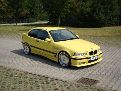 """E36 Compact E36 Compact 19 Zoll M-""""sport"""
