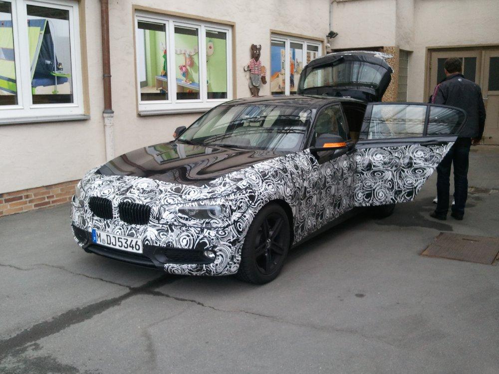 Neuer BMW 1er Erlkönig - 1er BMW - F20 / F21
