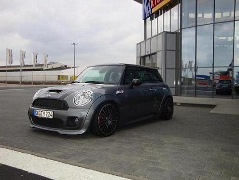 mini cooper s r56 john cooper works fotostories weiterer. Black Bedroom Furniture Sets. Home Design Ideas