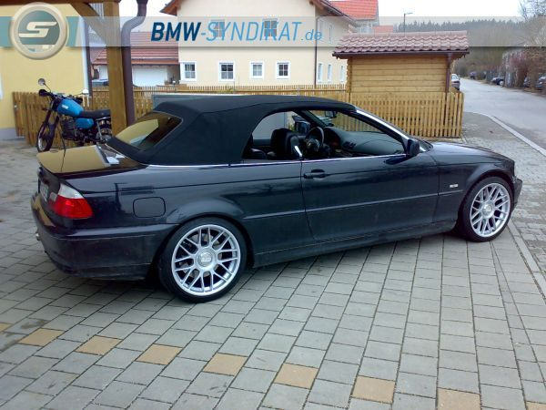 e46 cabrio 330ci faceliftumbau 3er bmw e46 cabrio. Black Bedroom Furniture Sets. Home Design Ideas