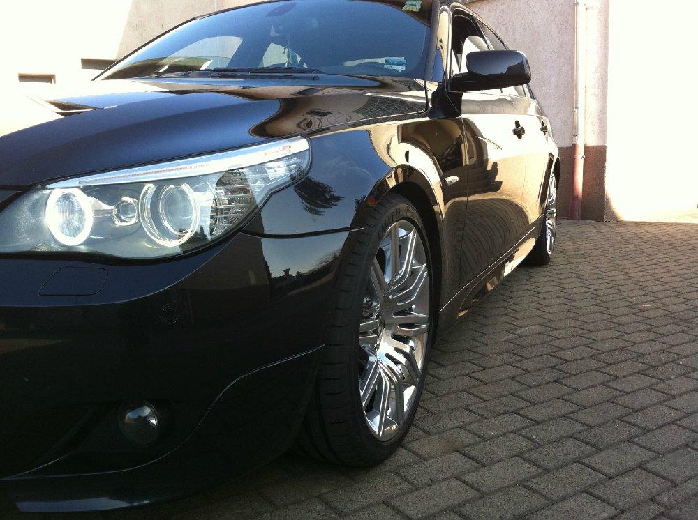VERKAUFT LCI M-Paket 19 Zoll M172 Hochglanzverdich - 5er BMW - E60 / E61