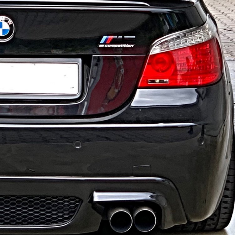 E60 Black Leopard mit Active Sound - 5er BMW - E60 / E61