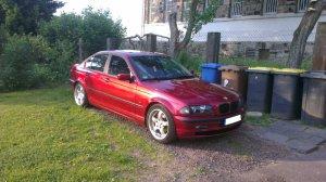 Rial GS807 Felge in 8x17 ET 35 mit Dunlop  Reifen in 225/45/17 montiert vorn Hier auf einem 3er BMW E46 316i (Limousine) Details zum Fahrzeug / Besitzer