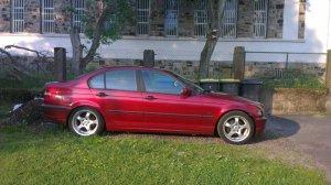 Rial GS907 Felge in 9x17 ET 35 mit Dunlop  Reifen in 245/40/17 montiert hinten Hier auf einem 3er BMW E46 316i (Limousine) Details zum Fahrzeug / Besitzer