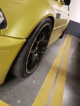 BBS CH Motorsport Felge in 8.5x19 ET 35 mit Toyo R888r Reifen in 235/35/19 montiert vorn Hier auf einem 3er BMW E46 M3 (Coupe) Details zum Fahrzeug / Besitzer