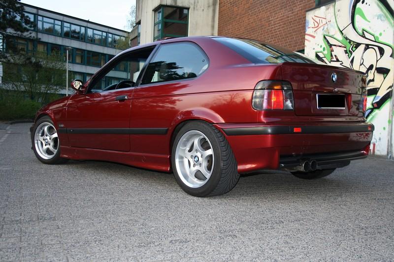 E36 Compact 318Ti M44 Calypsorot - 3er BMW - E36