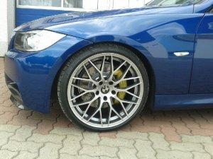 AEZ Antigua Felge in 8.5x19 ET 33 mit Dunlop  Reifen in 225/35/19 montiert vorn Hier auf einem 3er BMW E90 320d (Limousine) Details zum Fahrzeug / Besitzer