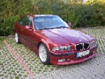 Mein Rotes E 36  318is Coupé