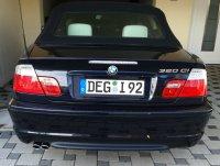 BMW 2-Rohr Endschalldämpfer Serie