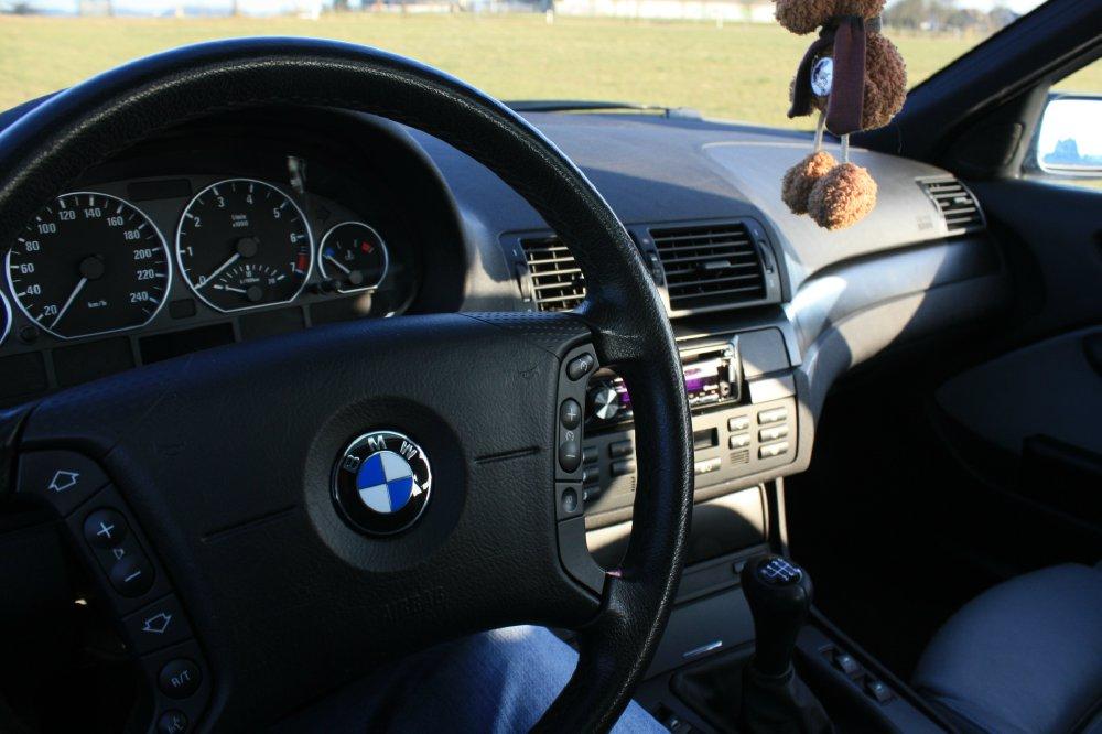 E46 330i Limo, 6 Gang, Mysticblau - 3er BMW - E46