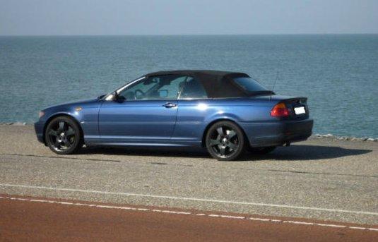 E46 330cia Facelift Cabrio Mysticblau Lpg 3er Bmw