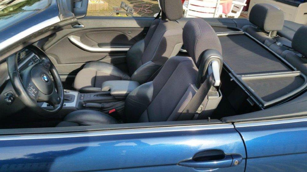 E46 330cia Facelift Cabrio Mysticblau / LPG - 3er BMW - E46