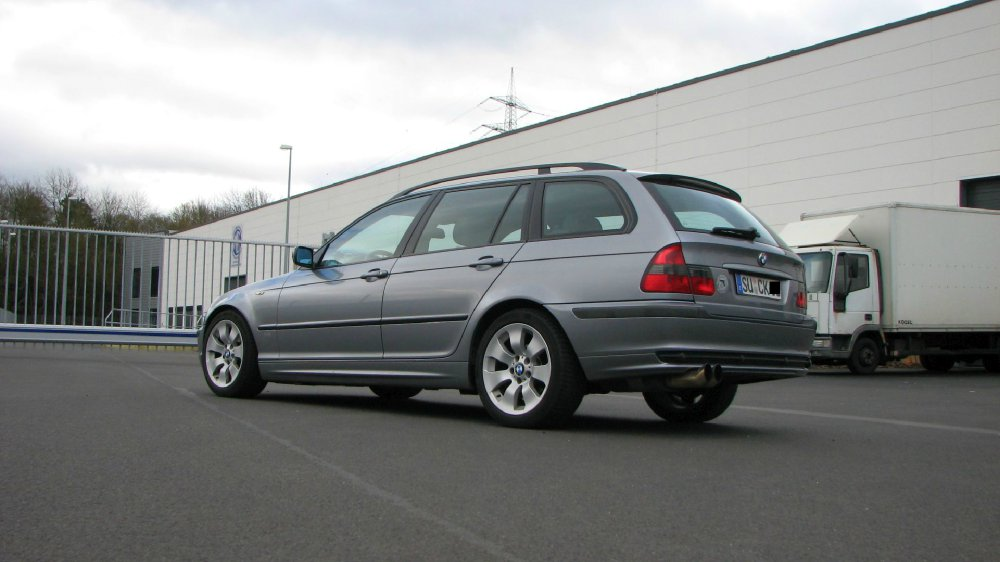 E46 Touring 2.0ig Silbergrau LPG - 3er BMW - E46