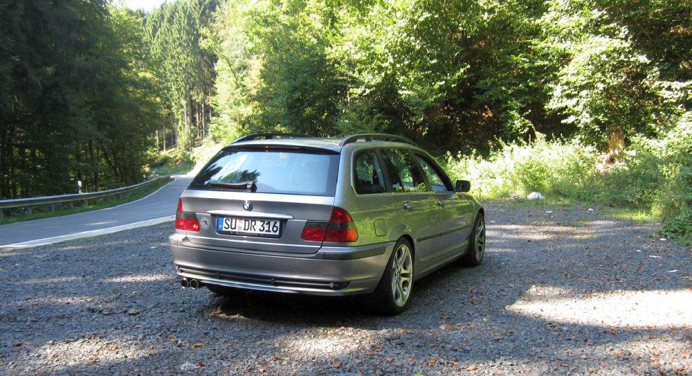 E46 330ia Touring Facelift, silbergrau, LPG - 3er BMW - E46