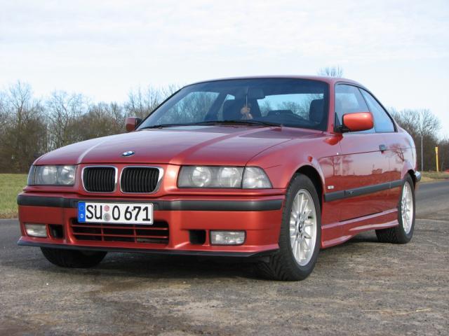 318is Coupe, Sierra Rot Metallic, M-Paket - 3er BMW - E36 -