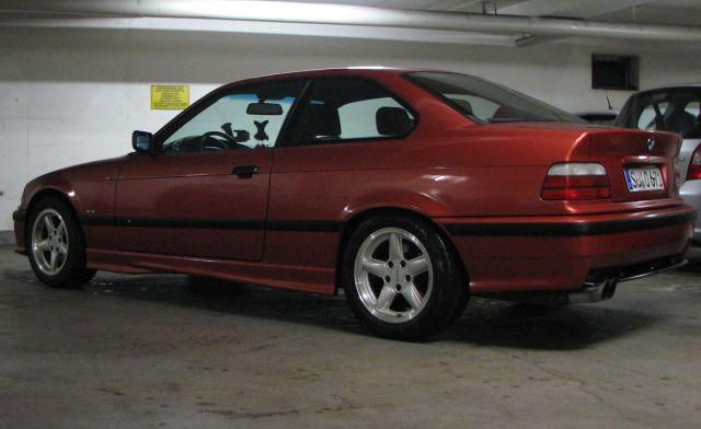 318is Coupe, Sierra Rot Metallic, M-Paket - 3er BMW - E36