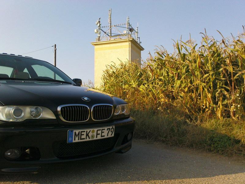 Nico's E46 Coupé - erstrahlt jetzt in rot matt - 3er BMW - E46