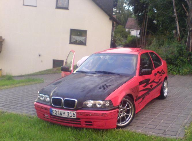 Mein 316i Compact 3er Bmw E36 Quot Compact Quot Tuning Fotos Bilder Stories