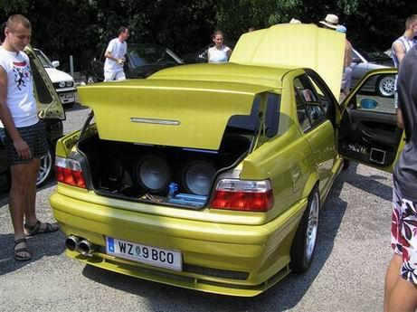 Phönix Gelb sedan . ... 2018  auch kein Betrieb - 3er BMW - E36 -