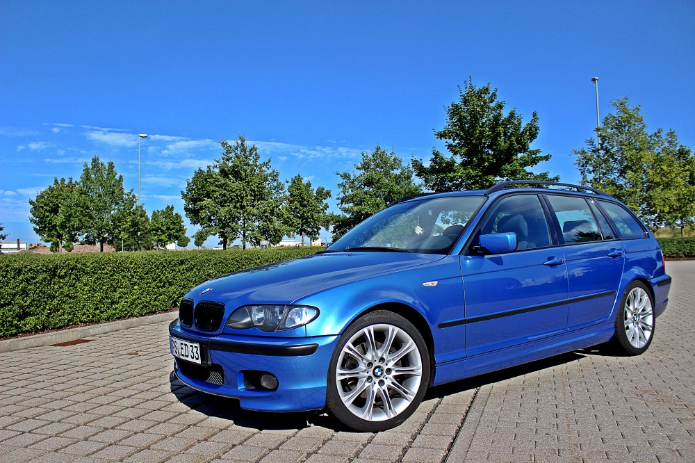 e46 320d touring edition33 estorilblau 3er bmw e46 touring tuning fotos bilder. Black Bedroom Furniture Sets. Home Design Ideas